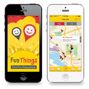 find fun things to do app