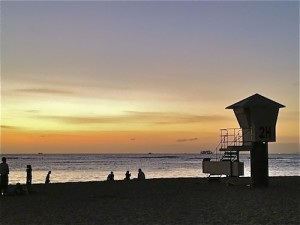 Kaimanas Sunset Hawaii
