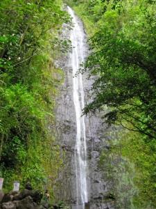 Manoa Waterfall in Honolulu
