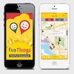 Fun Things smartphone app